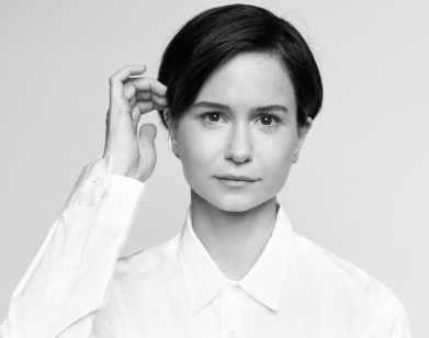 Katherine Waterston on 'basically' falling in love with 'State Like  Sleep's' director