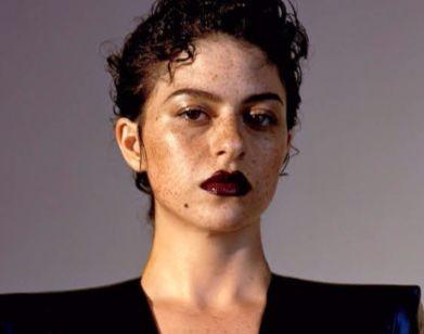 Alia Shawkat in New York