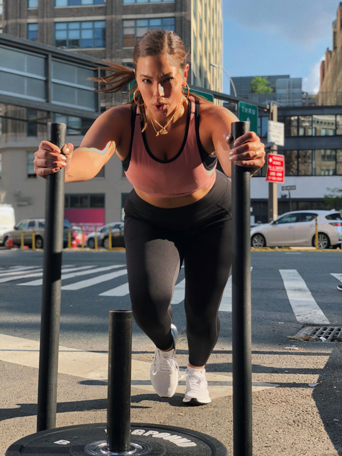 bf0c9929c7c49 Supermodel Ashley Graham works out five times a week while 7.3 million  followers watch along. Here are four of her best tips for living your own  #fitlife, ...