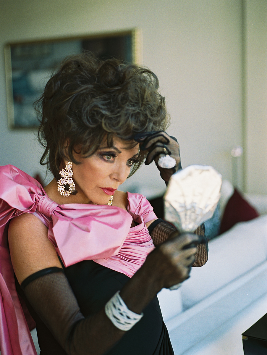 Fake photos of joan collins really